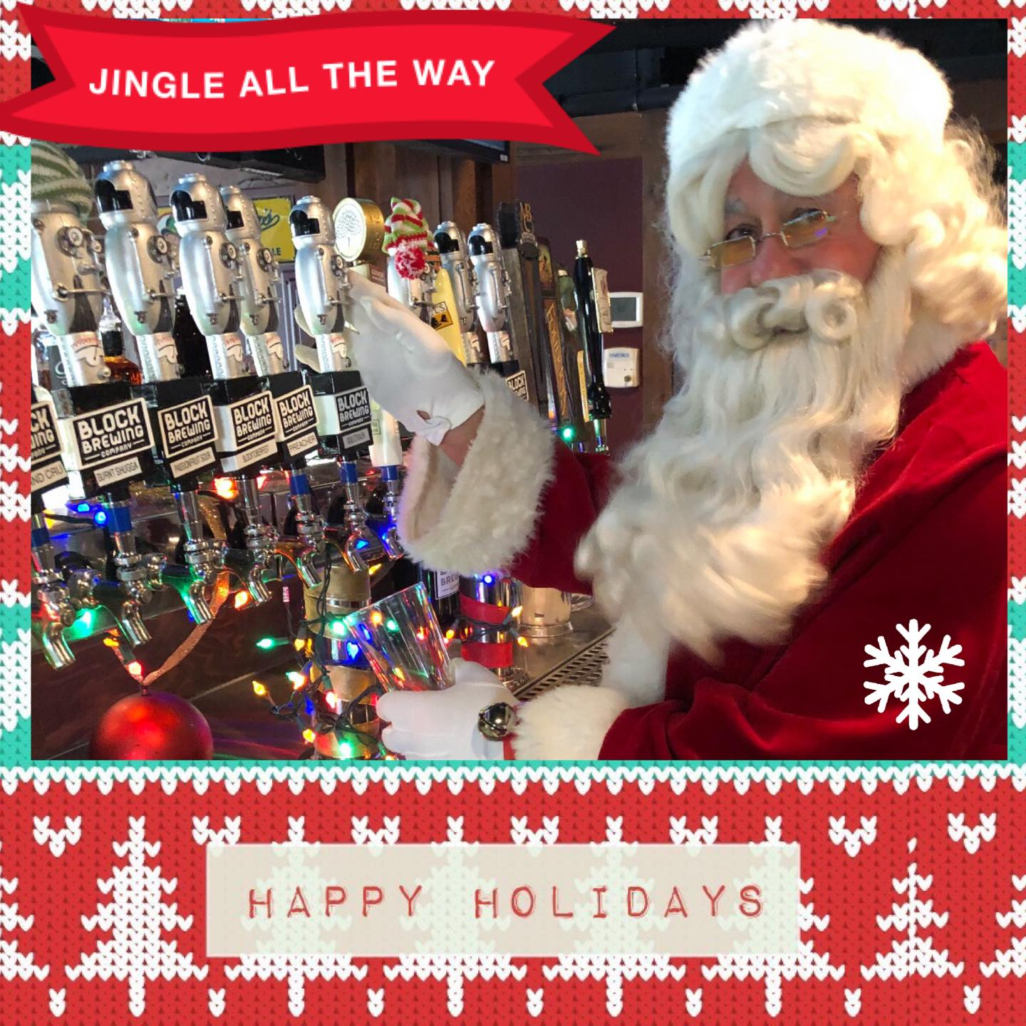 Happy Holidays! Today 12/24~We are featuring $ off a Growler fill or $ off…